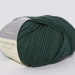 Casagrande Моточная пряжа Merino Classic материал меринос цвет зеленый 2458