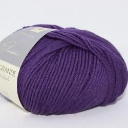 Casagrande Моточная пряжа Merino Classic материал меринос цвет  фиолетовый 1510
