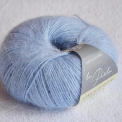 Casagrande Моточная пряжа La Perla материал альпака, шелк цвет голубой